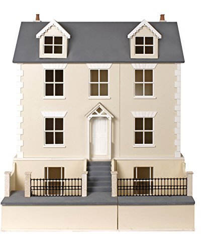 Melody Jane Dolls Houses Maison de poupées 1:12 kit prêt à assembler PAQUET PLAT Country Cottage & sous-sol