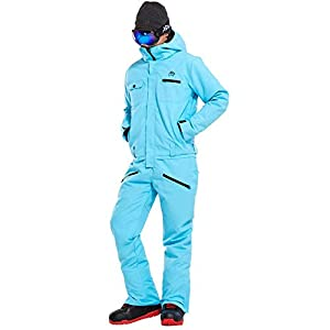 XYQY 2019 Neue Winter Ski Anzug Männer einStück Schnee Jumpsuit Bergski wasserdicht Dicke warme Snowboard Jacken Snowboardhose