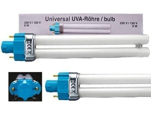 UV Ersatzröhre 4 x 9 W Universalröhren für Lichtgeräte (Uv-ofen)