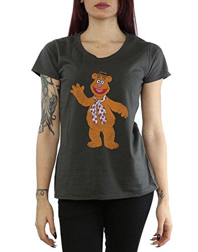 Muppets Femme Classic Fozzy T-Shirt Graphite Lumière