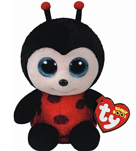"""Beanie Boo Ladybug - Izzy  - 15cm 6"""""""