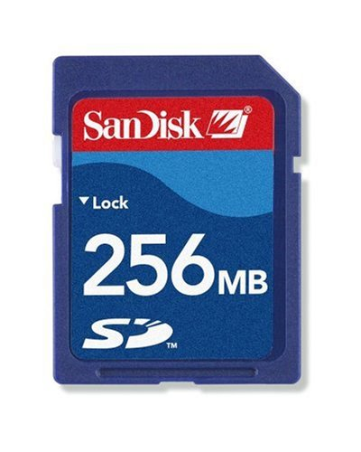 Sandisk Secure Digital Card 256 MB Speicherkarte