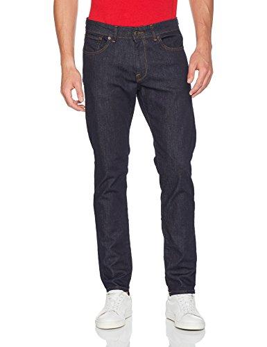 SELECTED HOMME Shnstraight-Scott 1002 Rinse St Jns Noos, Jeans Rectos para Hombre, Azul (Dark Blue Denim), W36/L34 (Talla del Fabricante: 36)