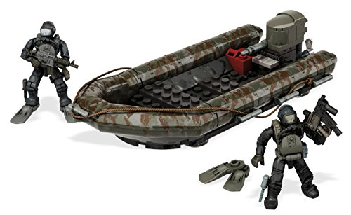 Spielset Bricks Rib Costal Attack Aufblasbare 2 Soldaten Sub Cod Call of Duty - Original Mega Construx