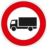 Verkehrszeichen VZ253, Verbot für Kraftfahrzeuge mit einer zulässigen..., Alu, RA1, Ø 42cm...