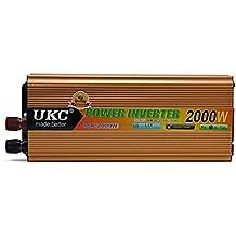 2000w convertisseur 24v 220 vinversor de onda sinusoidal modificada inversor de corriente de coche con cable de la batería completa protección