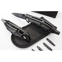 Transformers Coltello tascabile pieghevole strumento multifunzione W/4punte cacciavite