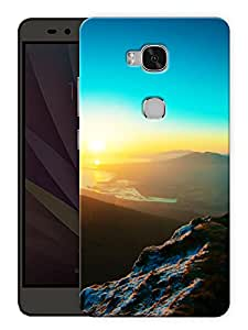 "Humor Gang Sky From Above Printed Designer Mobile Back Cover For ""Huawei Honor 5X"" (3D, Matte Finish, Premium Quality, Protective Snap On Slim Hard Phone Case, Multi Color)"