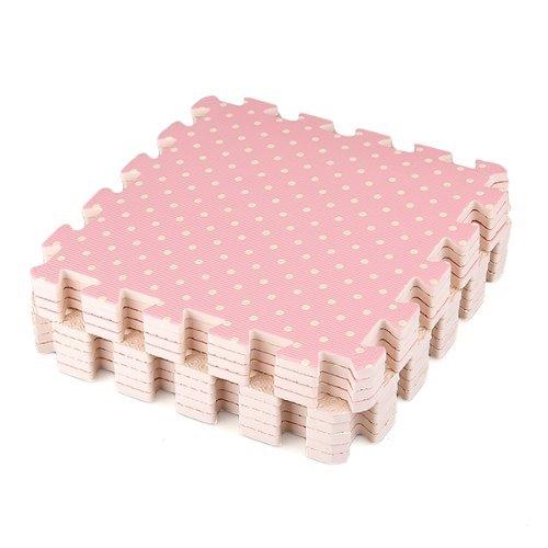 TOOGOO(R) 9 Stueck-Baby-Kind-Kleinkind-EVA-Schaum-Wiedergabe Boden Puzzle Matte