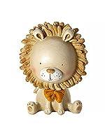 Questo splendido salvadanaio a forma di leone è un regalo perfetto per un neonato, per un regalo di battesimo, di natale o per un baby shower. Il leone ha una faccia dolce con una grande criniera e indossa un cravattino a farfarlla. Sulla bas...