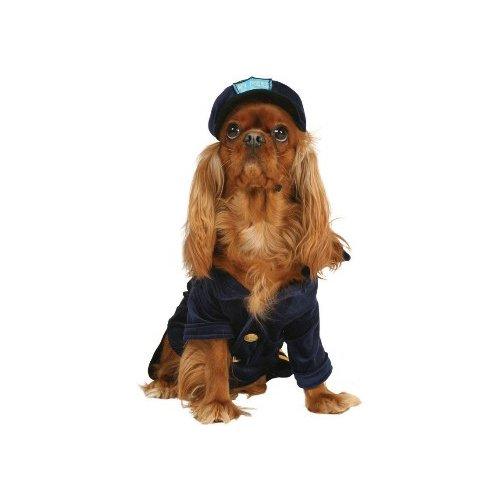 Officer polizeidiensthund Dog Pet Kostüm Gr. Klein by Cinema Secrets (Cinema Secrets Kostüm)