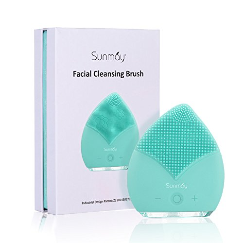 SUNMAY Gesichtsreinigungsbürste Silikon, Anti-Aging Gesichtsmassagegerät Elektrische,...