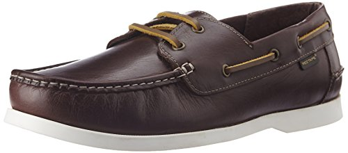 Redtape Men's Leather Boat Shoes