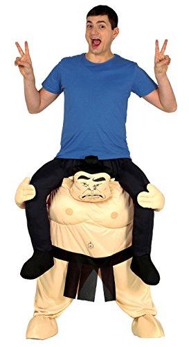 Guirca-Déguisement Adulte Carry Me Sumo taille 52-54(88284.0)