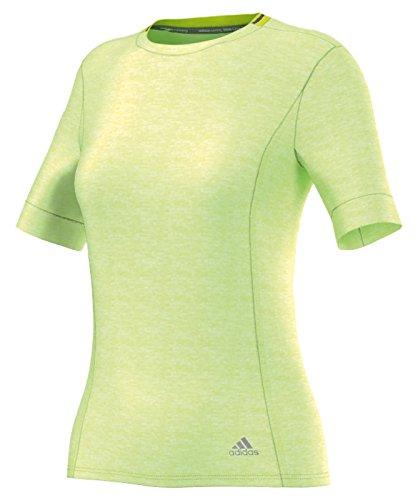 adidas Damen Laufshirt Supernova Tee S/S, Gelb, XL, AA0628 Preisvergleich