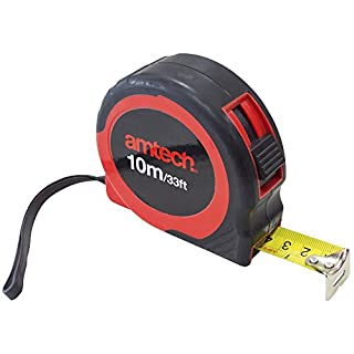 Am-Tech 10 m x 25 mm Measuring Tape, P1255