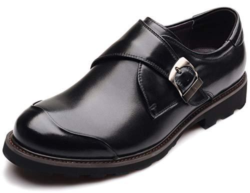 Derby-Schuhe der Männer schnüren sich oben Geschäfts-Kleider Schuhe Oxford-Schuhe der dicken Sohlen Müßiggänger