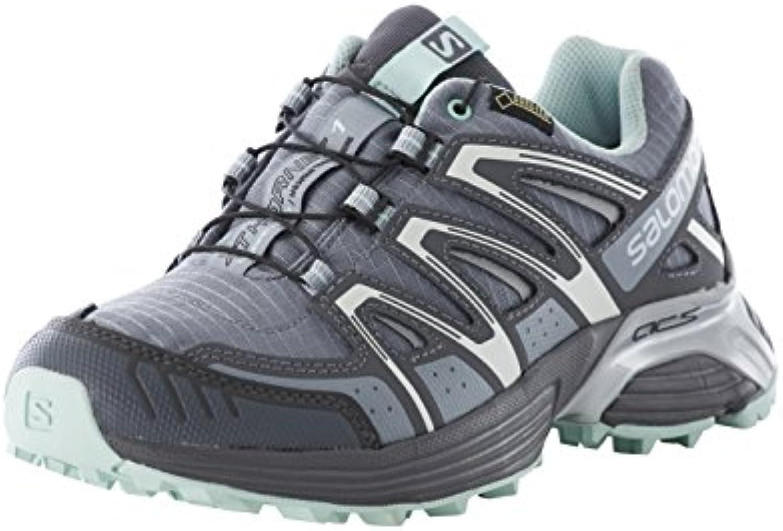 Salomon Running Shoes XT Hornet GTX W Pearl Grey Dark Cloud