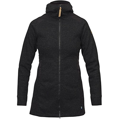 Fjällräven Övik Wool Jacket Women - Fleecemantel Schwarz