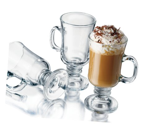 Libbey 8-1/2-Ounce Irish Coffee Mug, 4-Piece Set by Libbey