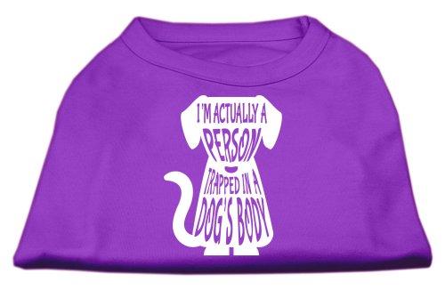 Mirage Pet Products Eingeschlossene Screen Print Shirt lila XXXL (20) -