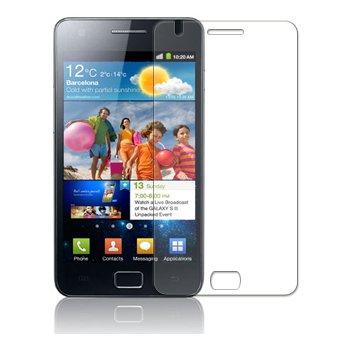 Membrane 3 x Pellicola Protettiva compatibile con Samsung Galaxy S2 Plus (GT-i9105) - Trasparente, Confezione