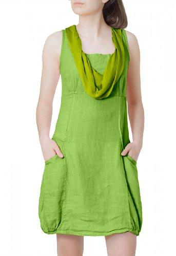 CASPAR Fashion -  Vestito  - Donna Verde (verde)