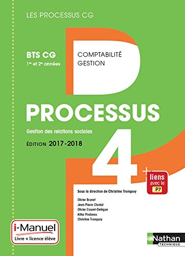 Processus 4 - BTS CG 1re et 2e annes