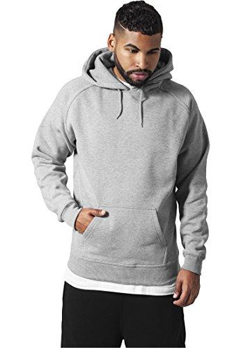 "Preisvergleich Produktbild Urban : ""Blank Hoody"" Size: 4XL,  Color: grey …TB014"