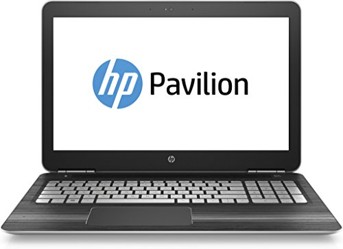 HP Pavilion (15-bc201ng) 39,6 cm (15,6 Zoll / Full-HD IPS) Notebook (Intel Core i5-7300HQ, 8 GB RAM, 1 TB HDD, 256 GB SSD, NVIDIA GeForce GTX 1050, Windows 10 Home 64) in schwarz/silber