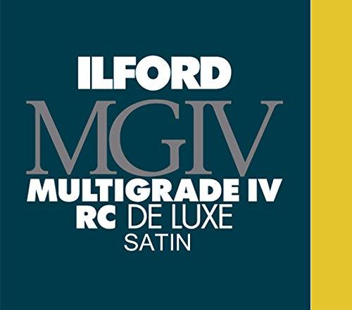 Preisvergleich Produktbild Ilford 1772155 MG IV Satin 25M 50 24X30 Druckerpapier