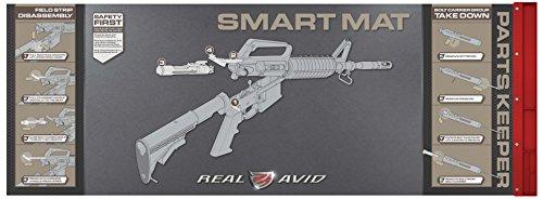 RealAvid Unisex-Adult Real AVID AR15 Smart Mat Black, no Size -