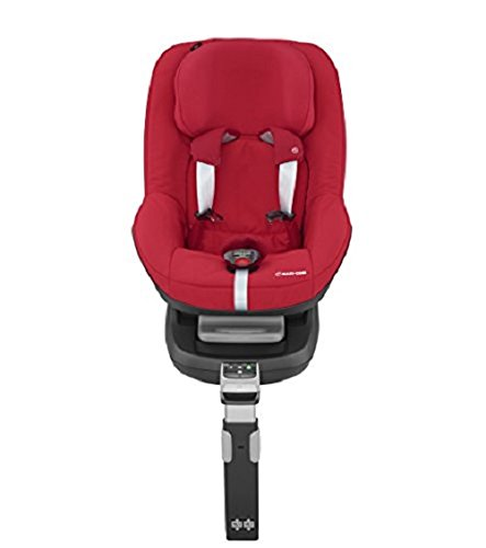 Maxi-Cosi Pearl Car Seat, Vivid Red + FamilyFix Car Seat Base ISOFIX, Black Maxi-Cosi Isofix anchorages provides the safest, easiest and quickest way to install a car seat  Innovative stay open harness stays open to easily get the child in and out in seconds  ISOFIX car seat base suitable for children up to 18 kg (from birth to 4 years) 6