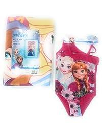 Bañador Frozen Elsa y Anna Disney + Toalla Elsa y Anna Frozen Microfibra