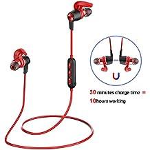 Origem Auriculares Bluetooth Inalambricos 30min Carga V4.1 Cascos Deportivos