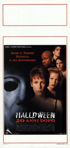 o Plakat Movie Poster (13 x 28 Inches - 34cm x 72cm) (1998) Italian (Josh Hartnett Halloween)