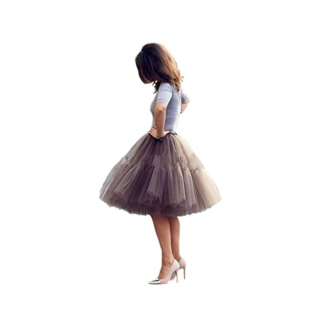 4dcfe960be2c17 Babyonlinedress Femme Jupon Rétro Style année 50 Vintage en Tulle ...