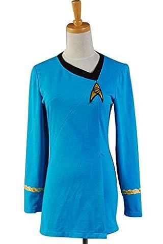 Costumes Star Trek Robe - Star Trek The Female Duty Uniforme Robe