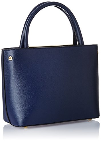 Cathy-London-Womens-Handbag-Colour-Blue-Material-Synthetic-Leather
