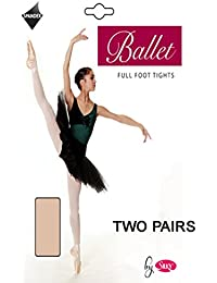 Silky Girls Convertible Ballet Tights For Dance Size 7 - 13
