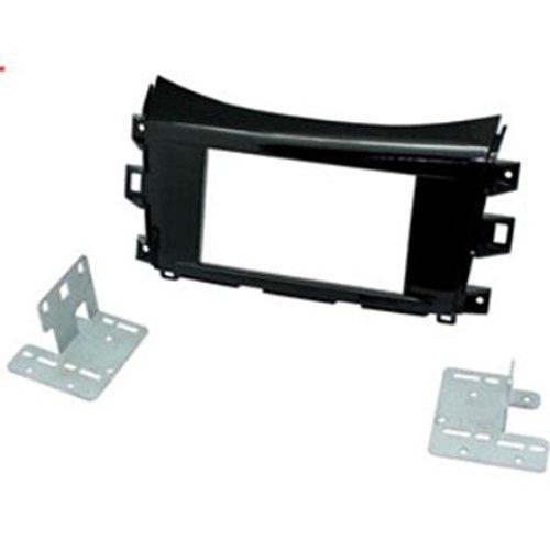 Scosche NNSA1684HGDDB Armaturenbrett-Armaturenbrett, für Nissan Navara Iso, 2 DIN, metallisch Scosche Dash Kit