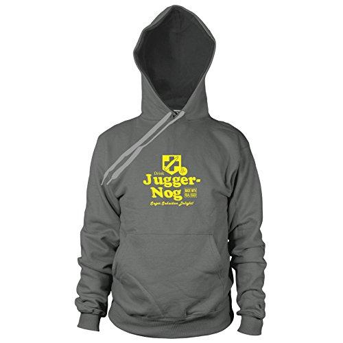 Preisvergleich Produktbild Juggernog - Herren Hooded Sweater, Größe: XXL, Farbe: grau