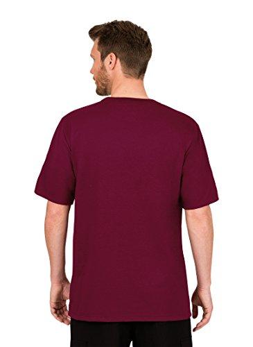 Trigema Herren T-Shirt 637203 Rot (Chianti-Melange 639)