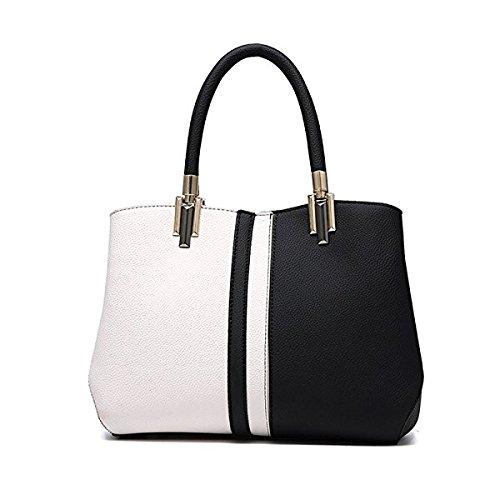 Vius stylish ladies black&white Handbag