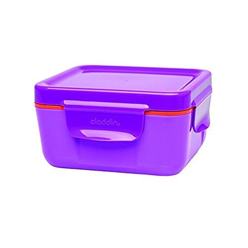 Aladdin 33388 Boîte Repas Isotherme 0,47 Litre récipients de Stockage Alimentaire en Plastique, Berry