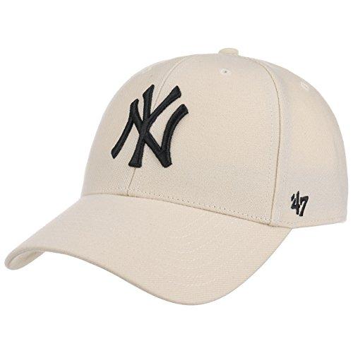 47Brand MVP Snapback NY Yankees MVPSP17WBP-NT Beige, Size:ONE Size (47brand Snapback)