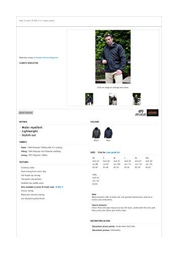 Result - Veste cheltenham Result All Black