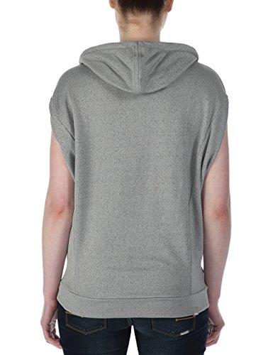 Amelia Hutchins Encure, T-shirt da donna, manica corta Grigio (Neutral Grey Marl)