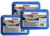Preisjubel 6 x SONAX Clay 200g, Reinigungsknetmasse, Lackreiniger, Lackpeeling,...