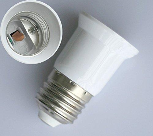 2x E27 auf E27 LED Leuchtmittel Verlängerung Adapter Lampe Sockel Deutsche Post